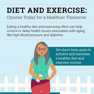 Diet And Exercise Choices Today For A Healthier Tomorrow National Institute On Aging