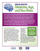 Thumbnail of the Brain Health Fact Sheet