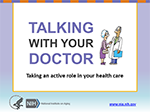 First slide of Talking With Your Doctor Presentation Toolkit PowerPoint
