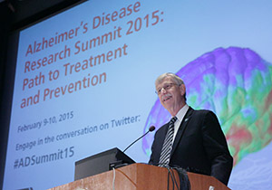 Dr. Francis Collins at the Alzheimer's summit