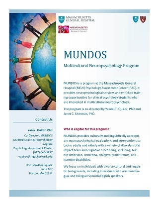 Cover of flyer for MUNDOS program