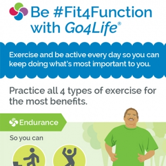 Be #Fit4Function with Go4Life