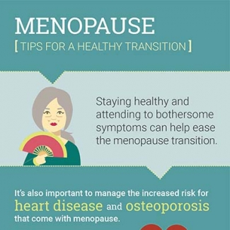 Thumbnail of menopause infographic