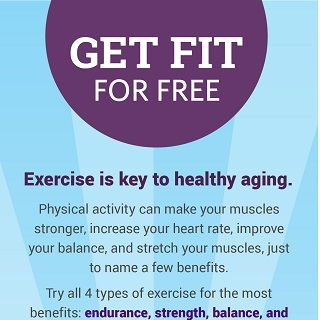 Get fit for free infographic thumbnail. Click through for more.