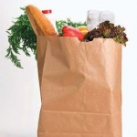 bag of healthy groceries