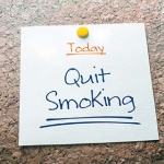 "Note that says, ""Today: Quit Smoking"""