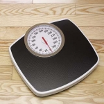 Unused bathroom scale