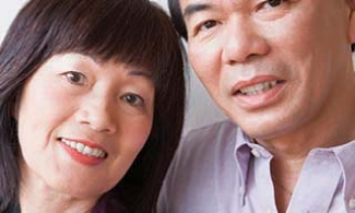 Older Asian couple