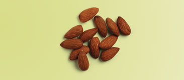 12 almonds or 7 walnut halves
