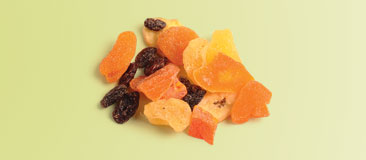 Quarter cup dried fruit