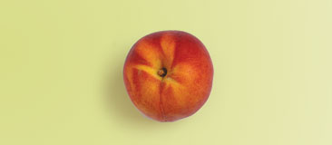 Small piece of fruit such as a 2-inch peach
